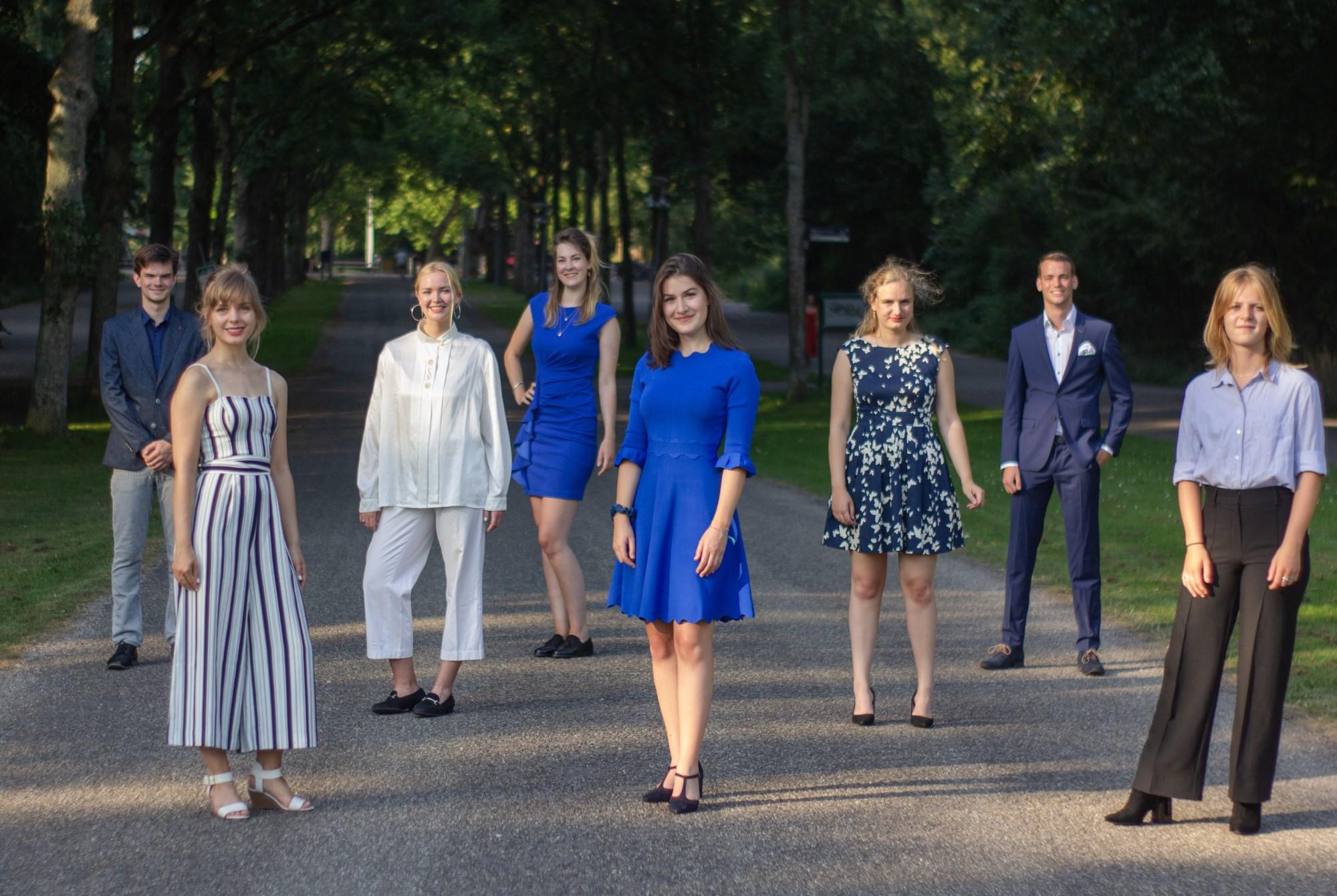 VU-Orkest bestuur 2020-2021